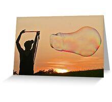 Sunset at Terrapin Hill Greeting Card