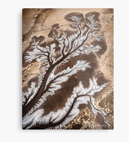 Tides and Time Metal Print