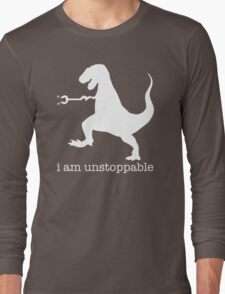 T-Rex I Am Unstoppable Long Sleeve T-Shirt