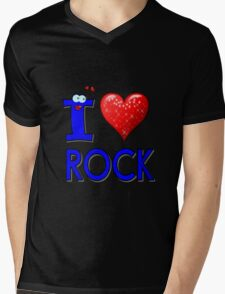 I LOVE ROCK MUSIC. T-Shirt