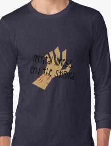 Mental Illness: End the Stigma #2 Long Sleeve T-Shirt