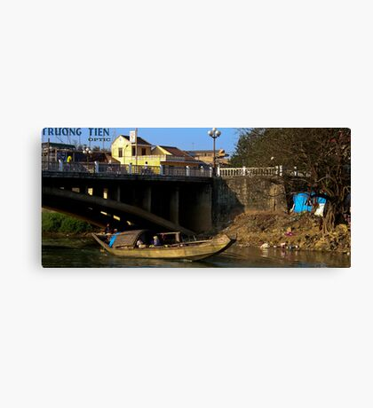 Afternoon in Hue, Viet Nam Canvas Print