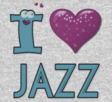 I LOVE JAZZ Kids Clothes