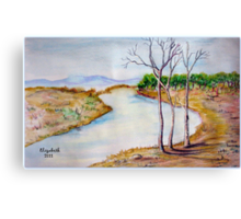 A place in my imagination Canvas Print
