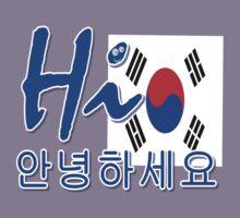 HI SOUTH KOREA. Kids Tee