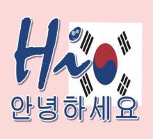 HI SOUTH KOREA One Piece - Long Sleeve