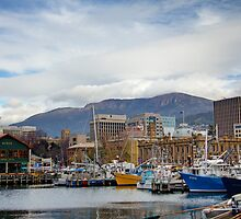 Hobart Harbour by Penny Lewis