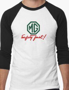 MG Safety Fast Men's Baseball ¾ T-Shirt
