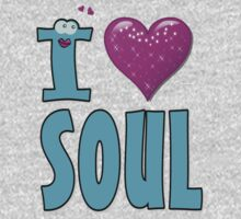 I LOVE SOUL MUSIC. Kids Tee