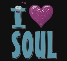 I LOVE SOUL MUSIC. Kids Clothes