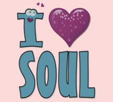 I LOVE SOUL MUSIC Kids Tee