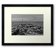 Bognor Rocks Framed Print