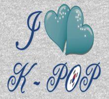 i love k-pop One Piece - Long Sleeve