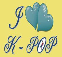 i love k-pop One Piece - Short Sleeve