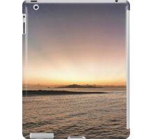 sun's own brush strokes iPad Case/Skin