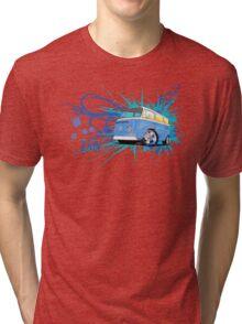 Bay Script Tri-blend T-Shirt