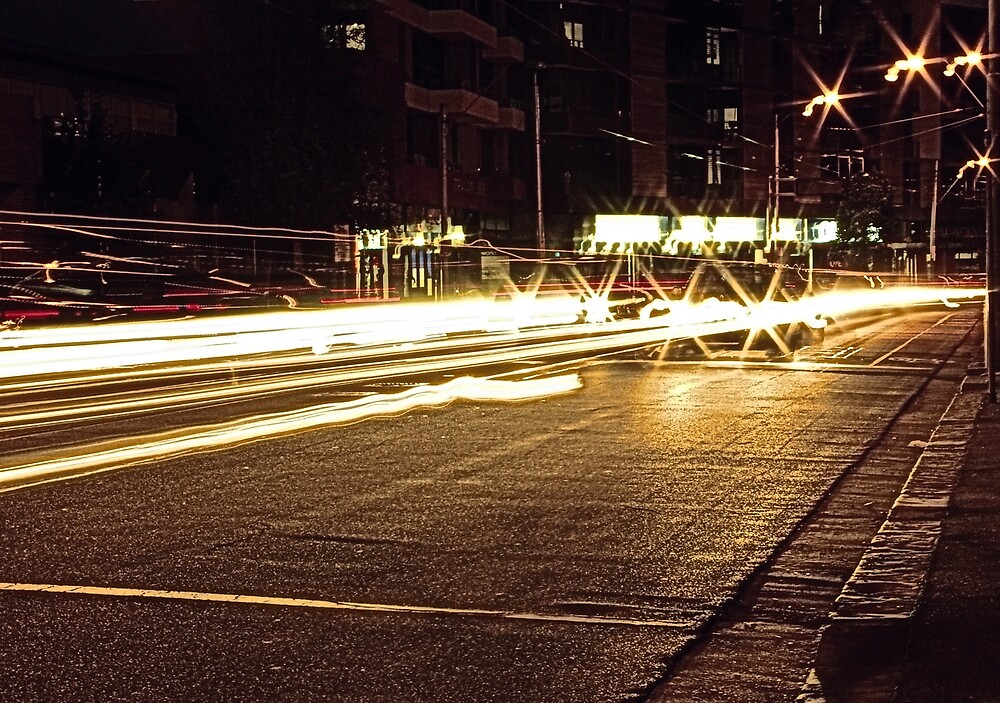 Mount Alexander Road (Early Evening) by Obscuro