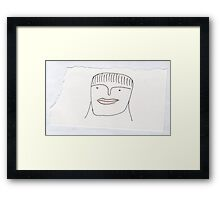 lisp Framed Print