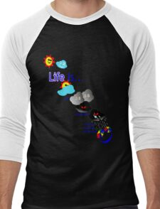 Life is like the weather. Men's Baseball ¾ T-Shirt