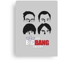 Bigbang  Theory Canvas Print