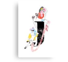 J Canvas Print