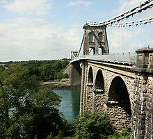 Menai Suspension Bridge by Julesrules