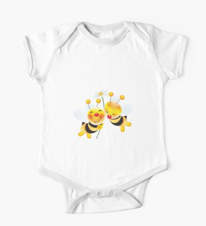 bees in love One Piece - Short Sleeve