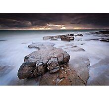 Rockslide (Sunshine Coast, Queensland) Photographic Print
