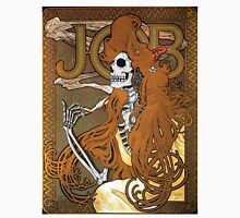Alphonse Mucha - 'JOB' cigarette paper (1896) Skeleton Version Unisex T-Shirt
