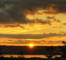 Scottish Sunset by VoluntaryRanger