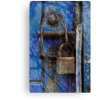 Thrown away the key Canvas Print