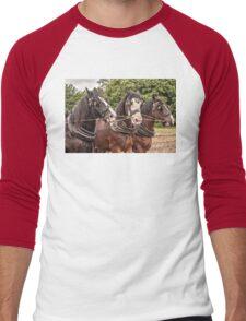 The Three Amigos - Heavy Work Horses Men's Baseball ¾ T-Shirt