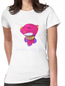 Puppy Pop - Quads 1 Womens Fitted T-Shirt
