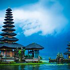 The temple on the water by AzureSky