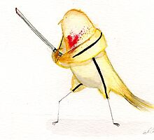 Birdtrix Kiddo- Kill Bill by NerdgasmsByKat
