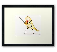 Birdtrix Kiddo- Kill Bill Framed Print