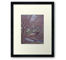 Firefly Fox Framed Print