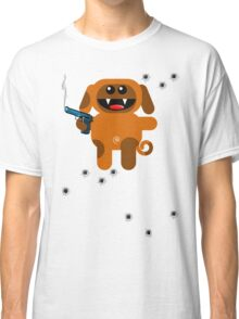 DOG 5  (Armed and highly dangerous!) Classic T-Shirt