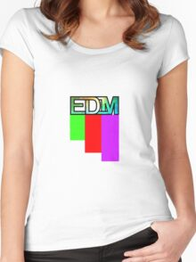 Artistic EDM Women's Fitted Scoop T-Shirt