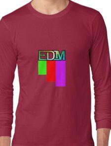 Artistic EDM Long Sleeve T-Shirt