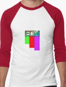 Artistic EDM Men's Baseball ¾ T-Shirt
