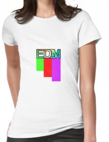 Artistic EDM Womens Fitted T-Shirt