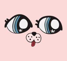 puppy dog eyes One Piece - Long Sleeve