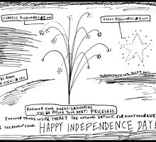 Happy In Dependence Day America! by bubbleicious
