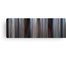 Moviebarcode: Jaws (1975) Canvas Print