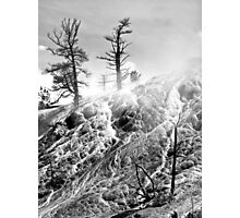 Sulfur and steam Photographic Print