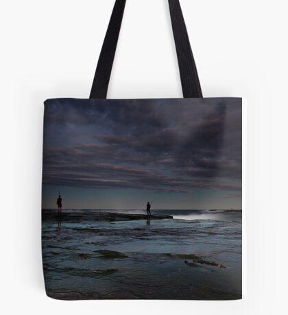 Winter Fishermen Tote Bag