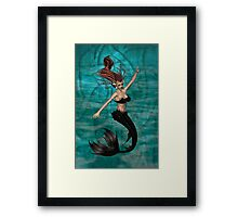 Vampire of the Water Realms Framed Print