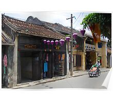 Quiet Streets of Hoi An, Vietnam Poster