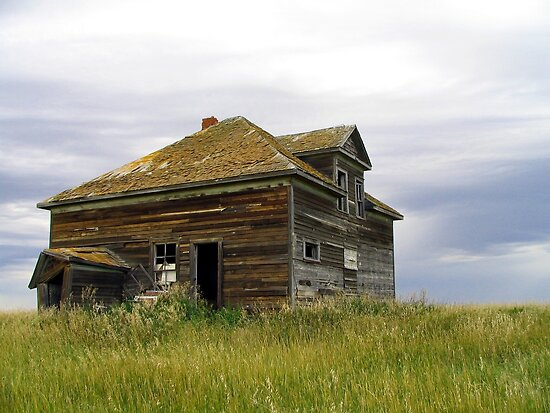 Abandoned farm 1 by Tracy Friesen